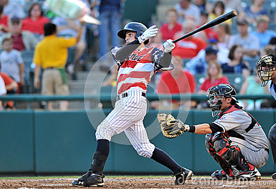2012 MiLB - Fourth of July in the Minors Editorial Stock Image
