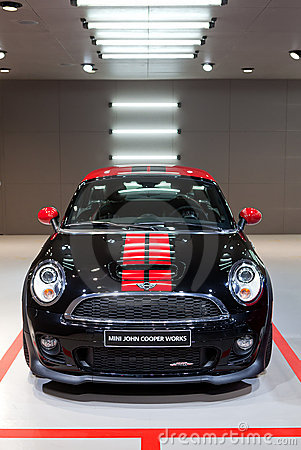 2012 Mini Cooper Works Editorial Stock Image