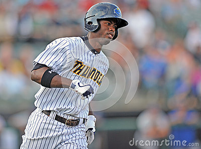 2012 Minor League Baseball action Editorial Photography