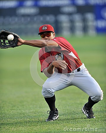 2012 Minor League Baseball action Editorial Stock Photo