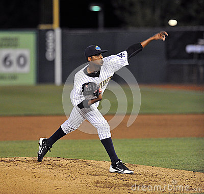 2012 Minor League Baseball - Pitcher Editorial Stock Image