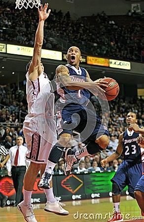 2012 NCAA Basketball - tough shot