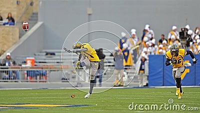 2012 NCAA football - WVU vs TCU Editorial Stock Photo