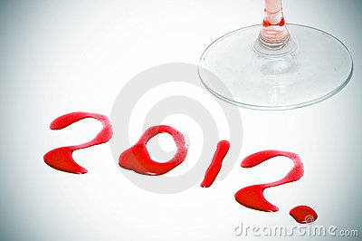 2012, The New Year Royalty Free Stock Photography - Image: 22216177