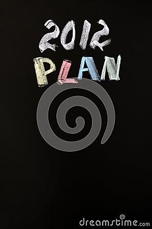 2012 New year Plan