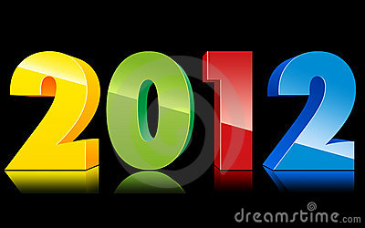 2012 New Year Text