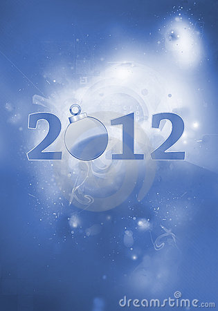 2012 New years eve decoration