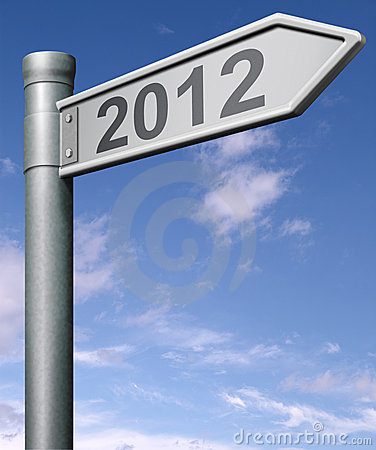 2012 next happy new year future sign