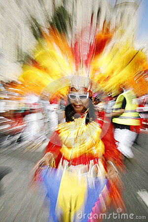 2012, Notting Hill Carnival Editorial Stock Image