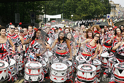 2012, Notting Hill Carnival Editorial Stock Photo