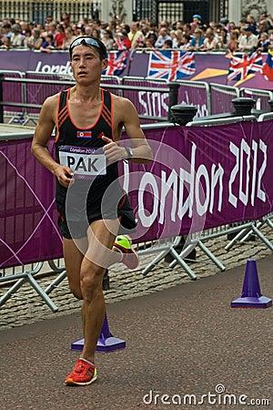2012 Olympic Marathon Editorial Photo