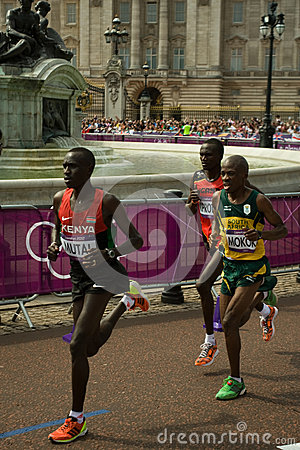 2012 Olympic Marathon Editorial Stock Photo