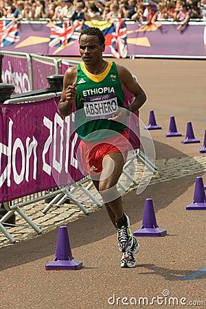 2012 Olympic Marathon Editorial Stock Image