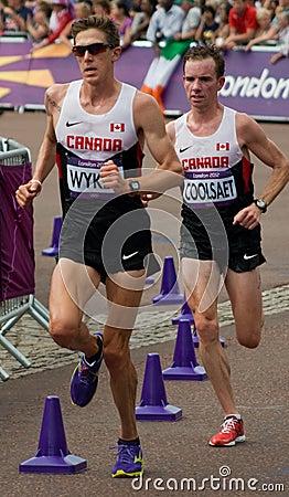 2012 Olympic Marathon Editorial Image