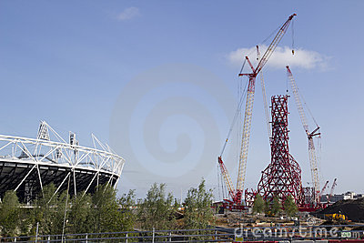 2012 Olympic Stadium Editorial Stock Image