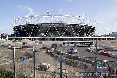 2012 Olympic Stadium Editorial Photography