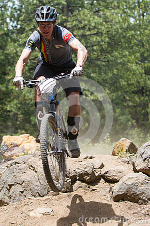 2012 Oregon Enduro Series Race #1: Bend, OR Editorial Stock Photo