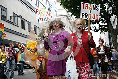 2012, orgulho de Londres, Worldpride Foto Editorial