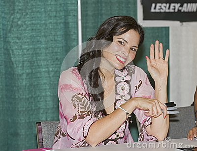 2012 Philadelphia Comic Con - Katrina Law Editorial Image