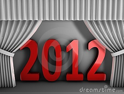 2012 red curtain
