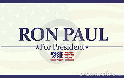 2012 Ron Paul Editorial Image