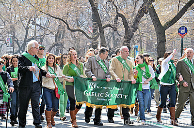 2012 Saint Patrick s Day Parade Editorial Photo