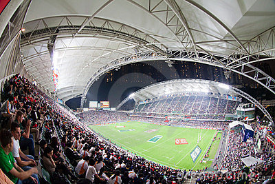 ράγκμπι του Χογκ Κογκ του 2012 sevens Εκδοτική Στοκ Εικόνα