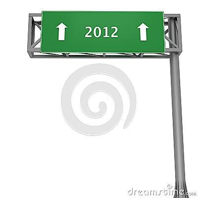 2012 signboard