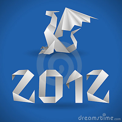 2012 smoka origami rok