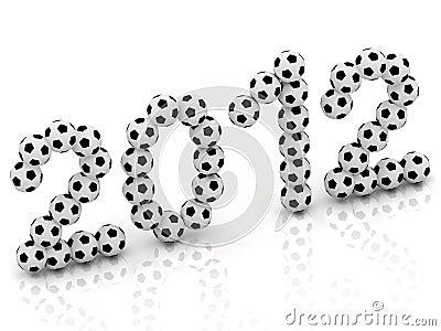2012 of the soccer balls