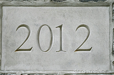 2012 in stone