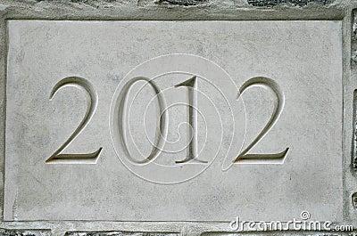 2012 in stone