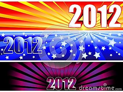 2012 sunburst banners