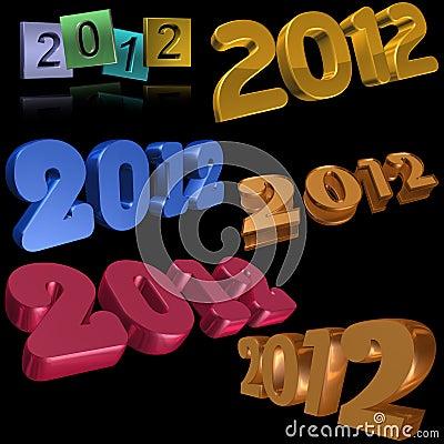 2012 symbols