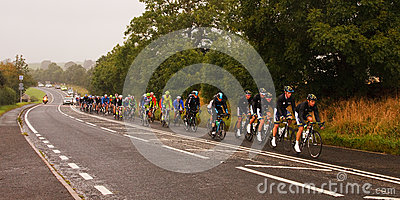 The 2012 Tour of Britain Editorial Stock Image