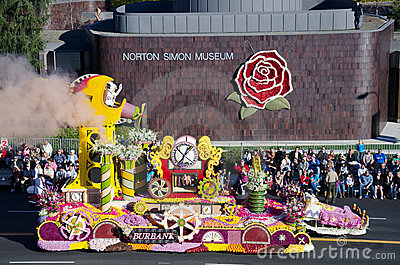 2012 Tournament of Roses Parade-Burbank Editorial Photo
