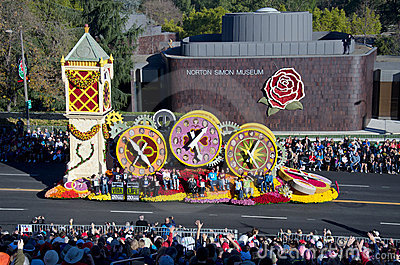 2012 Tournament of Roses Parade-Donate Life Editorial Stock Image