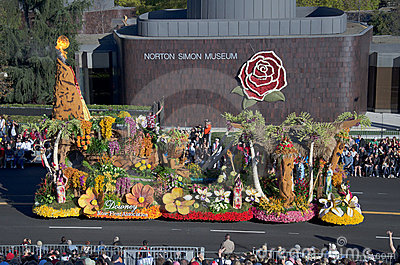 2012 Tournament of Roses Parade-Downey Editorial Image