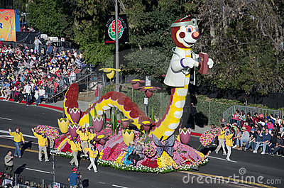 2012 Tournament of Roses Parade-Rotary Editorial Photo
