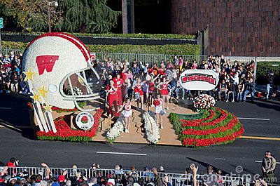 2012 Tournament of Roses Parade-Wisconsin Editorial Image