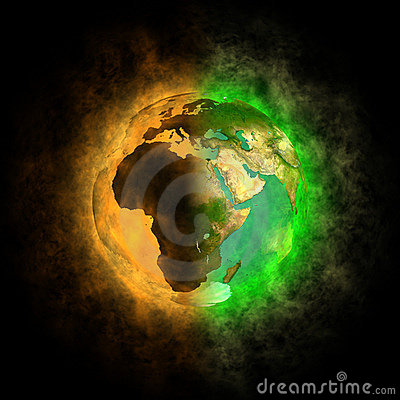 Free 2012 - Transformation Of Earth - Europe, Asia, Afr Royalty Free Stock Image - 22987076