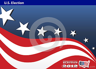 2012 U.S. Presidential Election poster background