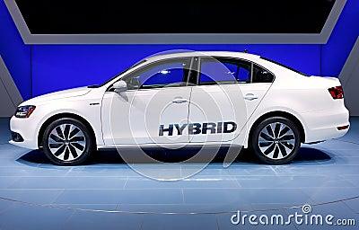 2012 Volkswagen Jetta Hybrid Editorial Stock Image