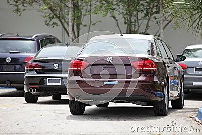 2012 VW Passat Editorial Image