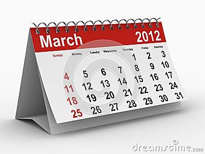 calendar march 2012. 2012 YEAR CALENDAR. MARCH