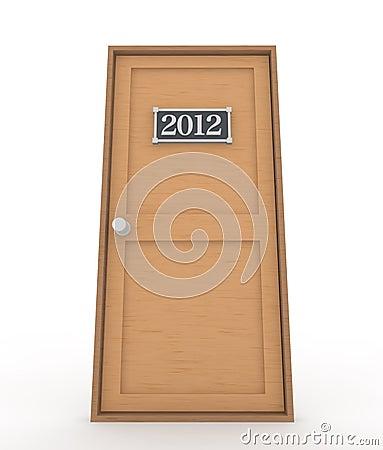 2012 Year Door