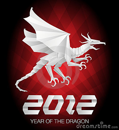2012 Year of the Dragon - origami