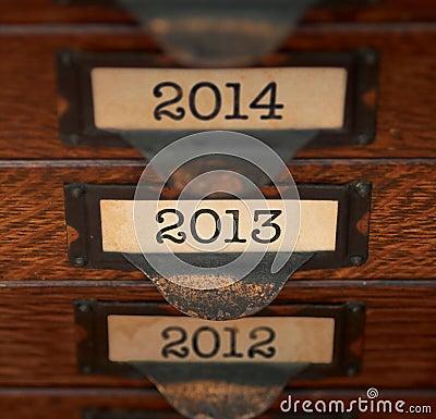 Ретро фокус на 2013
