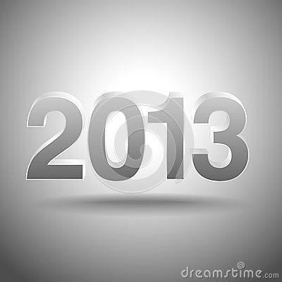 Free 2013 3D Background Royalty Free Stock Photos - 28084418