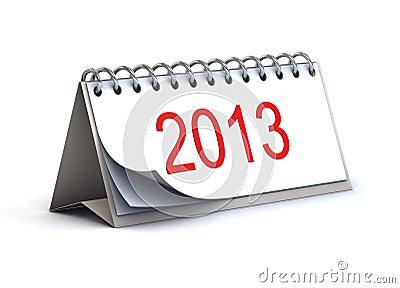 2013 3d desk calendar